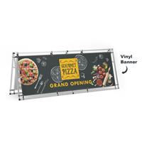 A-Frame 8ft Banner Displays