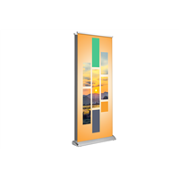 "Deluxe Retractable 33""x81"" Double Sided"